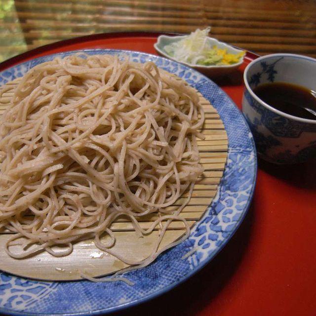 大文字庵おすすめセット お蕎麦